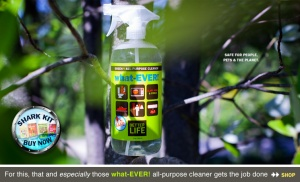 what-EVER! Natural All-Purpose Cleaner in Clary Sage & Citrus or Scent Free.